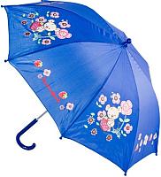 Зонт-трость Котофей 03807012-10 (синий) -