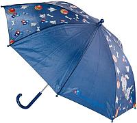 Зонт-трость Котофей 03707018-10 (серый) -