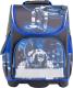 Школьный рюкзак Котофей 02704088-20 (черный/синий) -