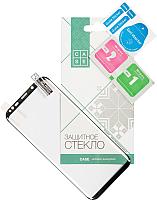 Защитное стекло для телефона Case Nano для Galaxy S8 plus (черный глянец) -