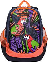 Школьный рюкзак Grizzly RD-953-3 (попугай) -