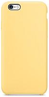 Чехол-накладка Case Liquid для iPhone 6/6S (блестящий желтый) -