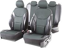 Чехол для сиденья Autoprofi Comfort X COM-1505GJ BK/Gun Metal -