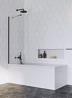 Стеклянная шторка для ванны Radaway Idea Black PNJ 70 / 10001070-54-01 (черный) -