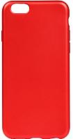Чехол-накладка Case Deep Matte для iPhone 6/6S TPU (красный) -