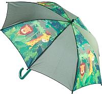 Зонт-трость Котофей 03707032-00 (коричневый) -