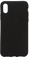 Чехол-накладка Case Rugged для iPhone Х (черный матовый) -