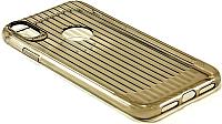 Чехол-накладка Case Focus для iPhone XR (черный глянец) -