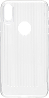 Чехол-накладка Case Focus для iPhone XS Max (прозрачный, глянец) -
