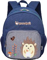 Детский рюкзак Котофей 02710136-00 (темно-синий) -