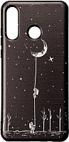 Чехол-накладка Case Print для P30 Lite (астронавт) -
