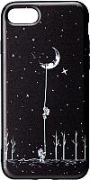 Чехол-накладка Case Print для iPhone 7/8 (астронавт) -