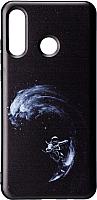 Чехол-накладка Case Print для iPhone 7/8 (волна астронавтов) -