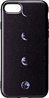 Чехол-накладка Case Print для iPhone 7/8 (луна) -