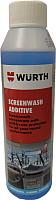 Жидкость стеклоомывающая Wurth Plus концентрат зимний / 0892332836 (250мл) -