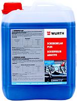 Жидкость стеклоомывающая Wurth Plus концентрат зимний / 0892332850 (5л) -