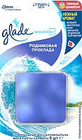 Сменный блок для освежителя воздуха Glade Sensations Родниковая прохлада (8г) -