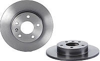 Тормозной диск Brembo 08762711 (только 1 диск) -