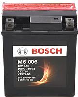 Мотоаккумулятор Bosch M6 YTX7L-4/YTX7L-BS / 0092M60060 (6 А/ч) -