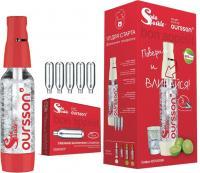 Набор для домашней газировки Oursson OS1000SK/RD -