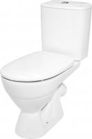 Унитаз напольный Керамин Палермо Дуал Premium (с жестким сиденьем и микролифтом) -