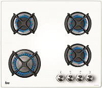Газовая варочная панель Teka HF LUX 60 4G AI AL (белый) -