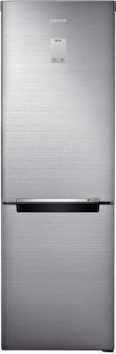 Холодильник с морозильником Samsung RB33J3420SS/WT - вид спереди