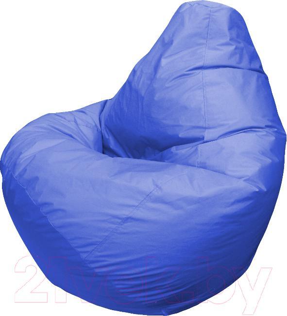 Купить Бескаркасное кресло Flagman, Груша Мега Г3.1-03 (василек), Беларусь, синий, оксфорд