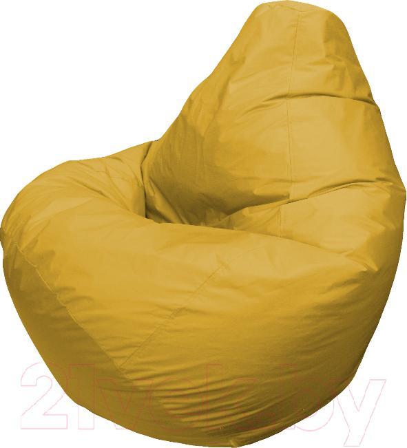Купить Бескаркасное кресло Flagman, Груша Мега Г3.1-07 (желтый), Беларусь, оксфорд