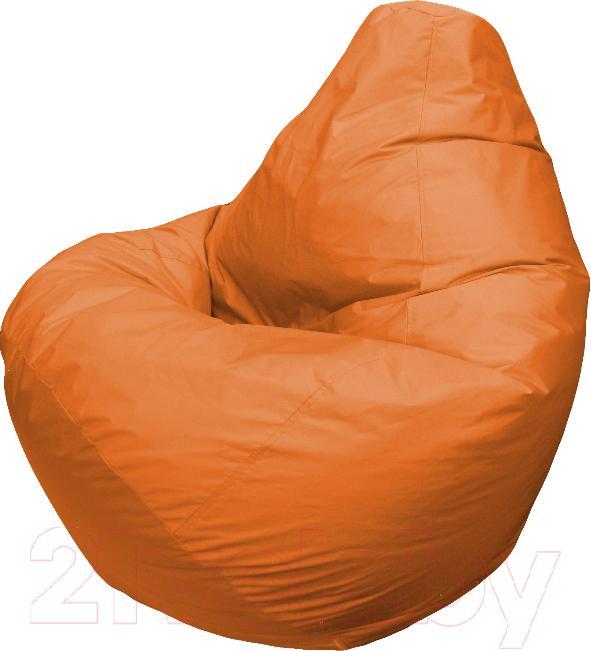 Купить Бескаркасное кресло Flagman, Груша Мега Г3.1-10 (оранжевый), Беларусь, оксфорд