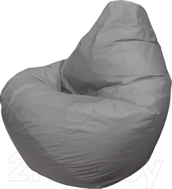 Купить Бескаркасное кресло Flagman, Груша Мега Г3.1-12 (светло-серый), Беларусь, оксфорд