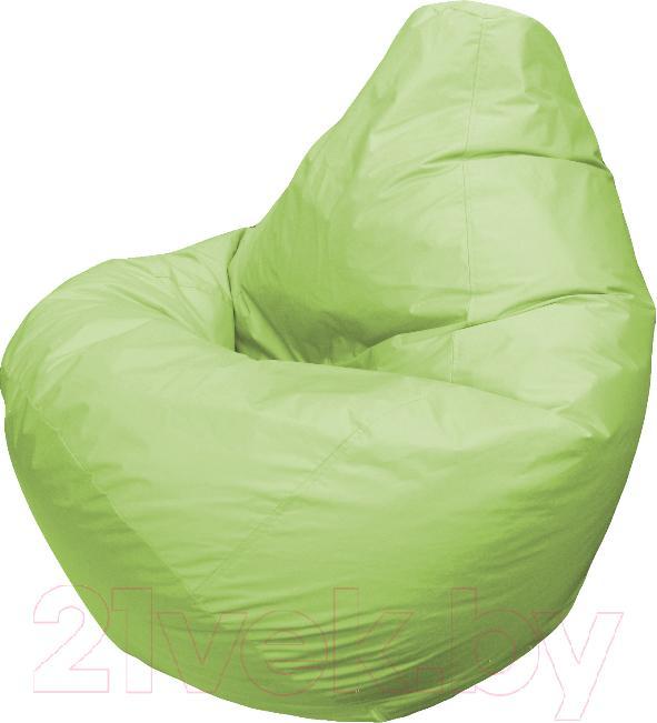Купить Бескаркасное кресло Flagman, Груша Мега Г3.2-02 (салатовый), Беларусь, зеленый, оксфорд