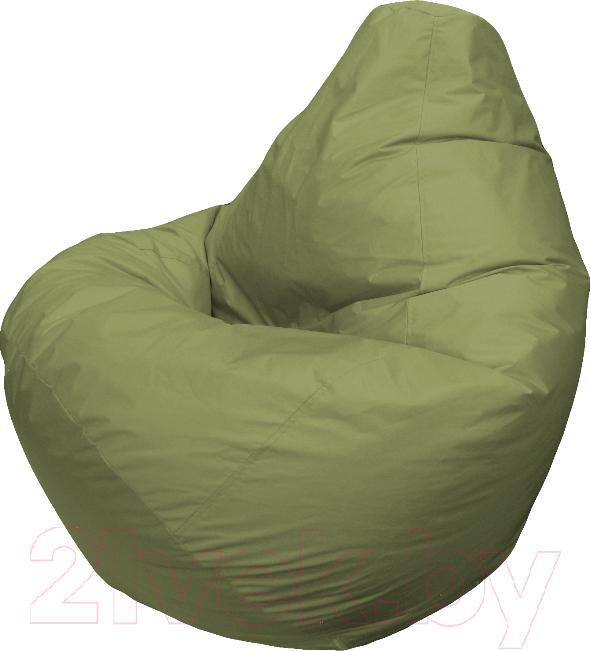 Купить Бескаркасное кресло Flagman, Груша Мега Г3.2-03 (оливковый), Беларусь, зеленый, оксфорд
