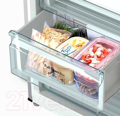 Холодильник с морозильником Samsung RB37J5240SA/WT