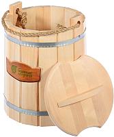 Ведро деревянное Банные Штучки 03594 (9л) -