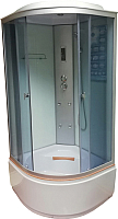 Душевая кабина Coliseum TE-100 100x100 (белый/матовое стекло) -