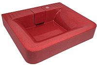 Умывальник Gran-Stone GS 1U (красный) -