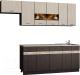 Готовая кухня Senira Вяселка 2/1 1.8м + шкаф настенный В-083 -