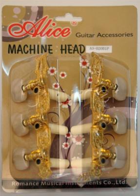 Набор колков для гитары Alice