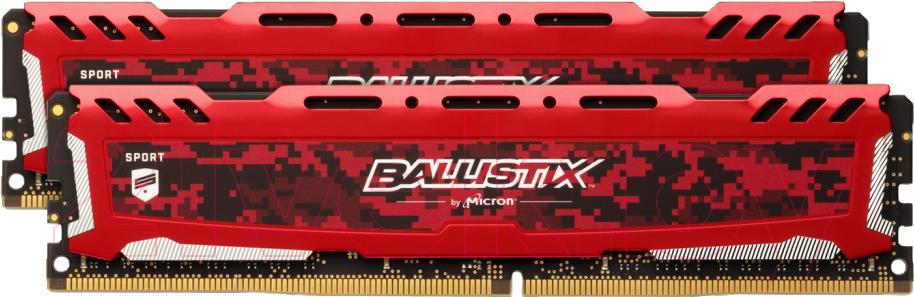 Купить Оперативная память DDR4 Crucial, BLS2K8G4D30AESEK, Китай
