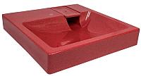 Умывальник Gran-Stone GS-3U (красный) -
