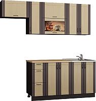 Готовая кухня Senira Вяселка 4/03 1.5м + шкаф настенный В-083 -
