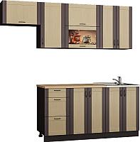 Готовая кухня Senira Вяселка 4/03 1.6м + шкаф настенный В-083 -