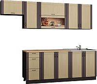 Готовая кухня Senira Вяселка 4/03 2.0м + шкаф настенный В-083 -