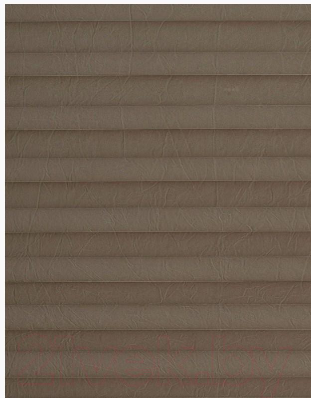 Штора-плиссе Delfa, Basic Crush СПШ-38509 (34x160, талп), Беларусь, ткань  - купить со скидкой
