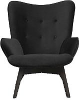Кресло мягкое Atreve Cuba (черный/черный) -