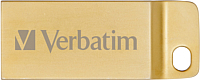 Usb flash накопитель Verbatim Metal Executive 32GB / 99105 (золото) -