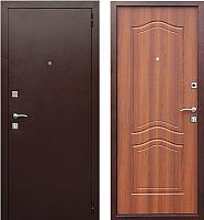 Входная дверь Юркас Dominanta Рустикальный дуб (86x205, правая) -
