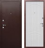 Входная дверь Гарда Dominanta Белый ясень (96x205, правая) -