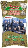 Прикормка рыболовная Sensas 3000 Super Riviere Bremes / 10341 (1кг) -